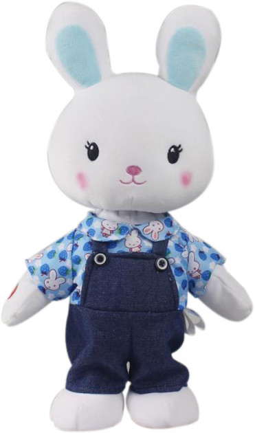 Зайка Топотун интерактивная музыкальная игрушка Bize Bunny (BordoBizeBunny)