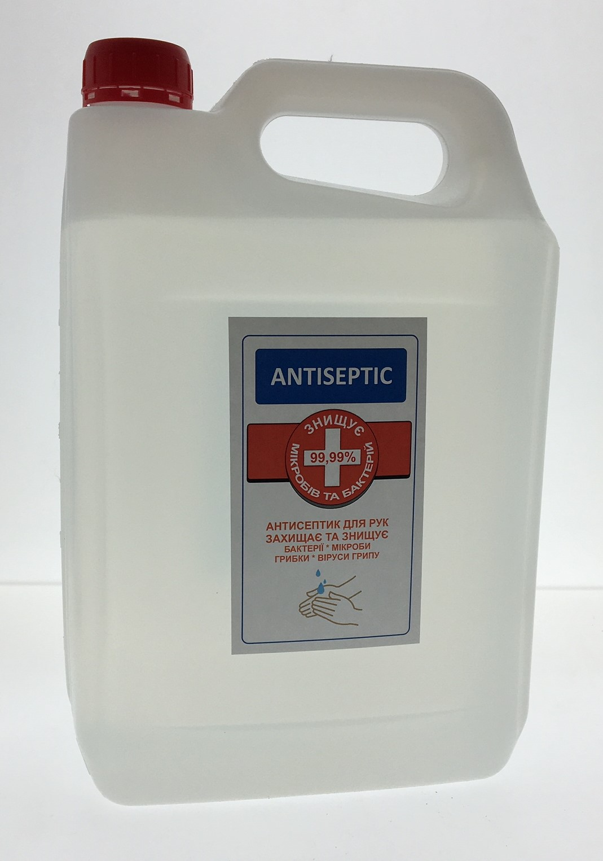 Антисептик для рук Antiseptic 5л